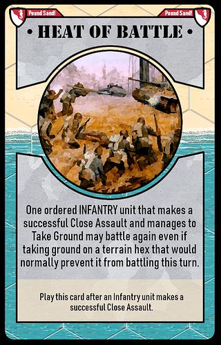 heat of battle