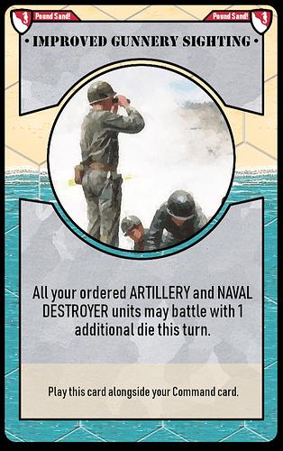 improved gunnery sighting